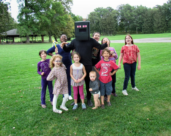 Birthday Enderman Minecraft Party