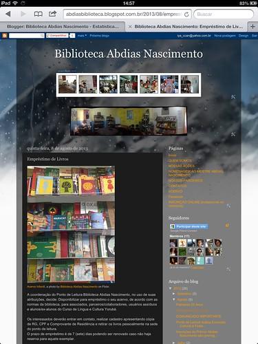 7.000 visualizações by Biblioteca Abdias Nascimento