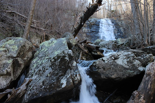 Shenandoah National Park - Whiteoak Canyon Trail - Lower Falls (Landscape) (By Ryan Somma)