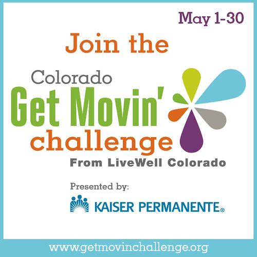#COGetMovin Challenge