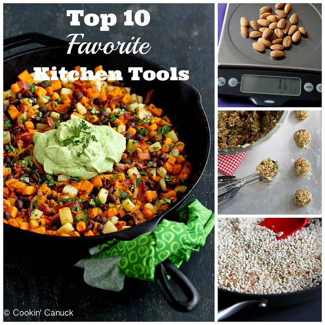 My Top 10 Favorite Kitchen Tools | cookincanuck.com
