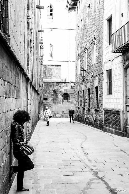 Wandering in Barça.