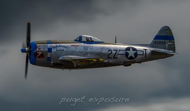 "FHC ""Tallahassee Lassie"" Republic P-47 Thunderbolt"