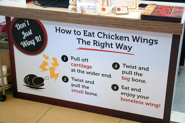 Do you eat chicken wings this way?