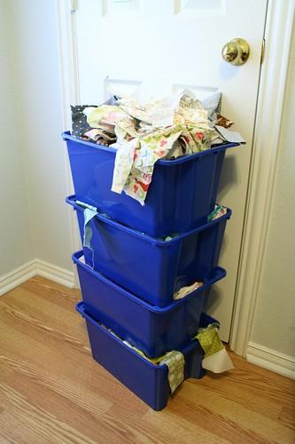 my scrap bins