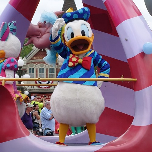 Festival of Fantasy Parade。ドナルドさん。