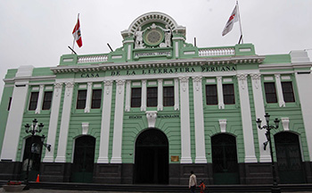 Lima's old train station, now a cultural center