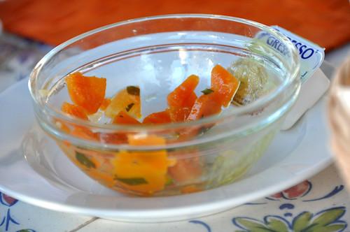 Gulerødder med hvidløg
