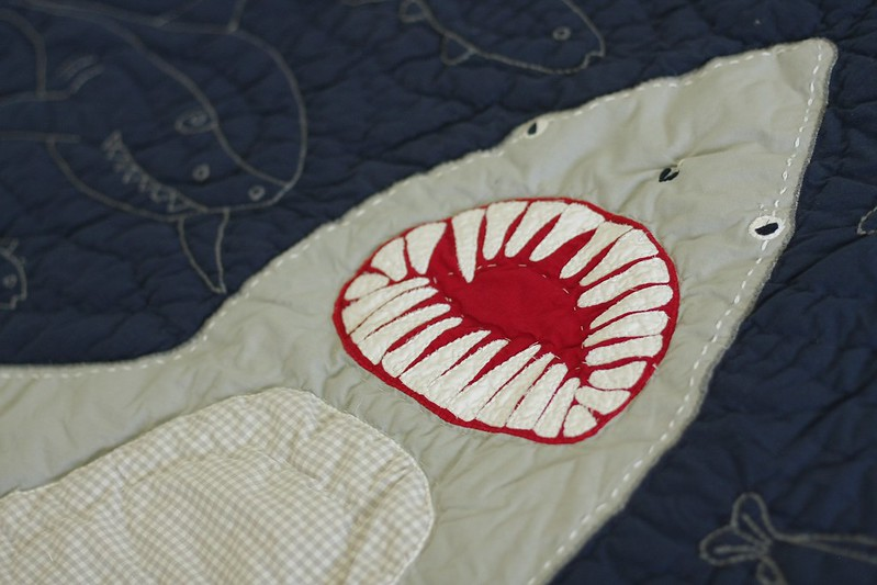 new (to us) shark quilt