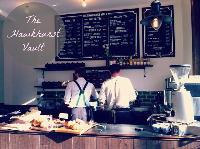 The Hawkhurst Vault Tea Rooms Shoreditch
