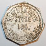 Trade Token 7 cents obverse