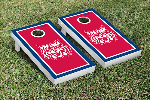 Arizona Wildcats Cornhole Game Set Border