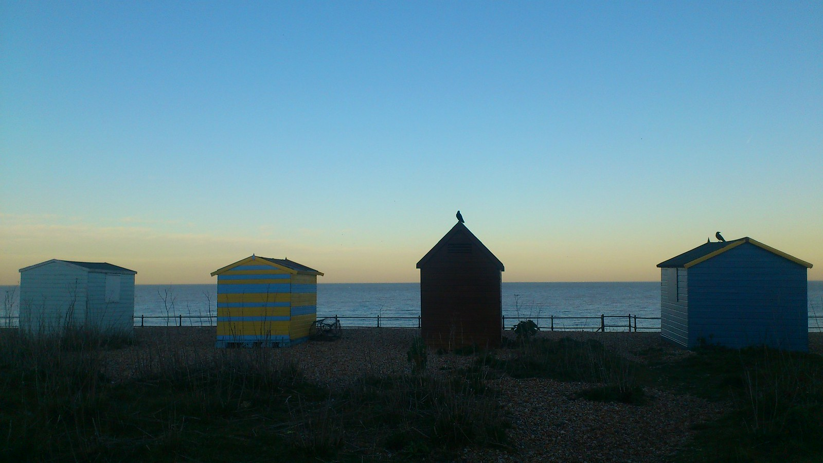 Beach Huts Dover to Deal.