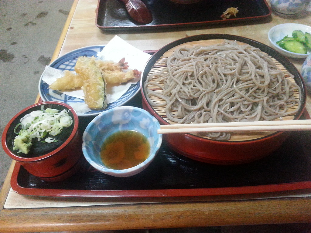 Tempera & Buckwheat Noodles