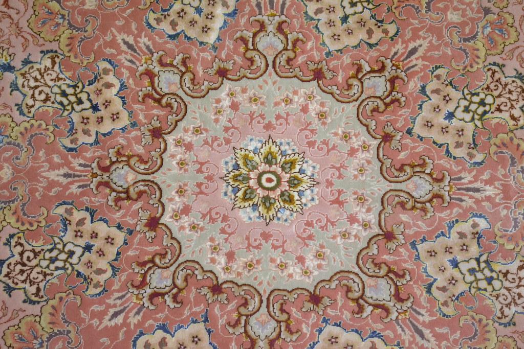 Persian Rug 10x13 Tabriz Shirfar 70 Raj
