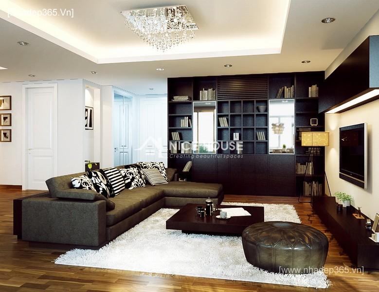 Thiết kế nội thất căn hộ nhà Lan Anh - Hà Nội_4