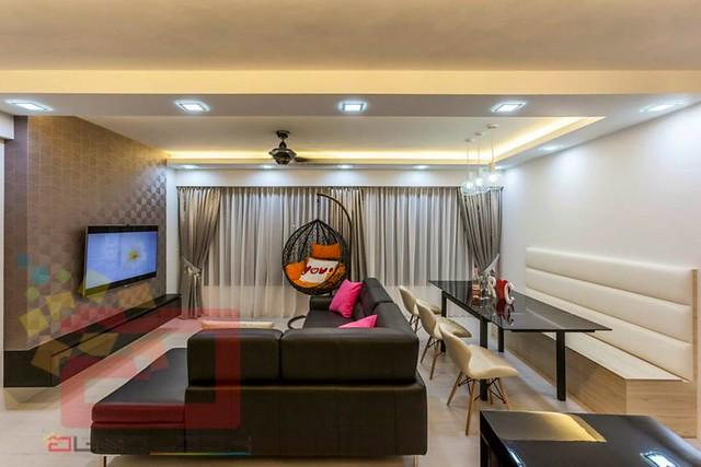 Hdb 5 room bto at blk 334 yishun riverwalk for Hdb bto 5 room interior design