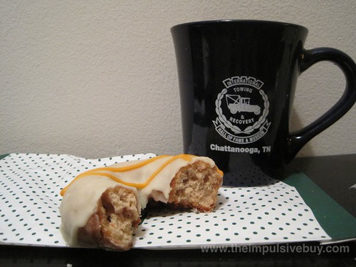Krispy Kreme Carrot Cake Doughnut Yes, that is a mug from the Museum of the History of Tow Trucks