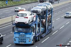 Volvo FM12 380 6x2 Car Transporter - K66 ECM - ECM - M1 J10 Luton - Steven Gray - IMG_3433