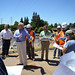Central Valley Flood Protection Board tour American River levee work