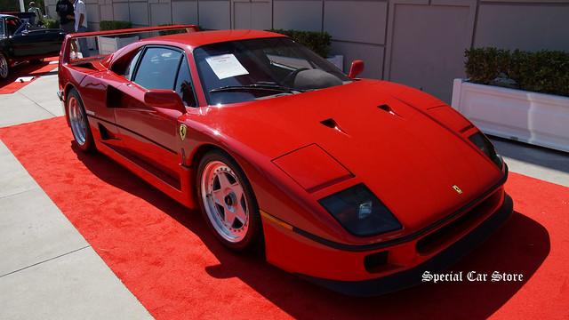 1990 Ferrari F40 owned by Rod Stewart