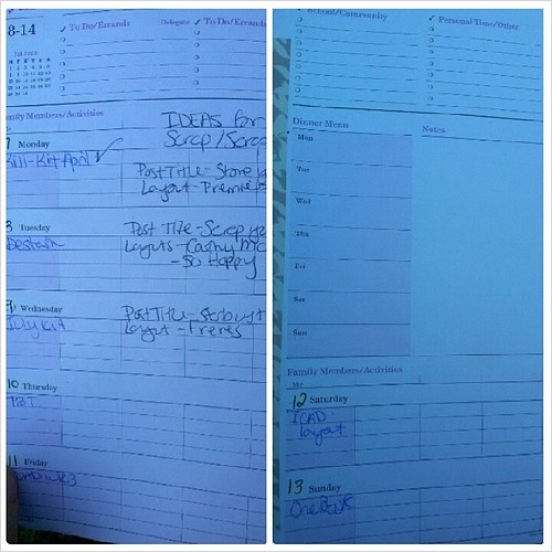 #onebookjuly2014 week on two page tipin for week two