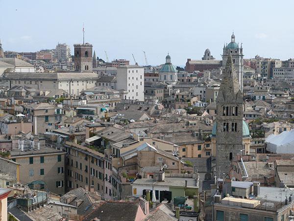 toits de Gênes