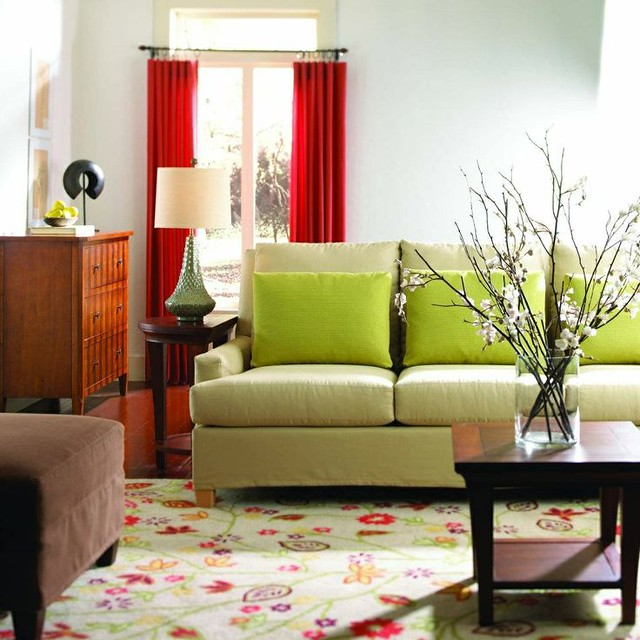 Living After Midnite Room For Style Decorating With Complimentary Colors