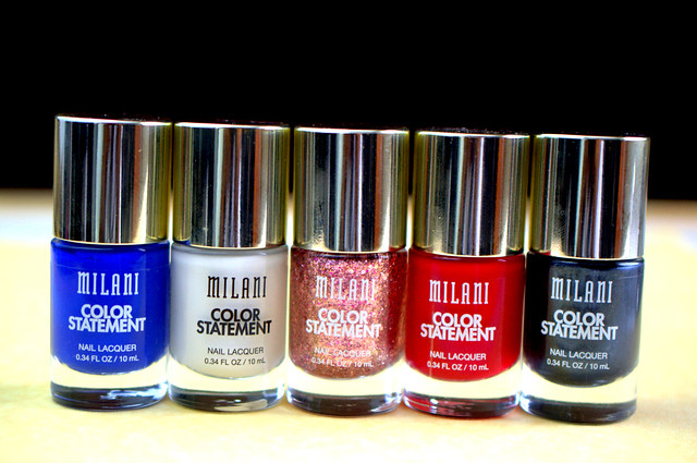 Milani Color Statement polishes