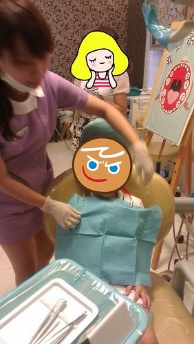 豐美牙醫診所-兒童牙齒衛教+塗氟3