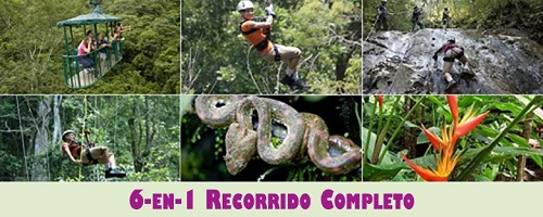 Costa Rica Pacific 6-in-1 Complete Tour
