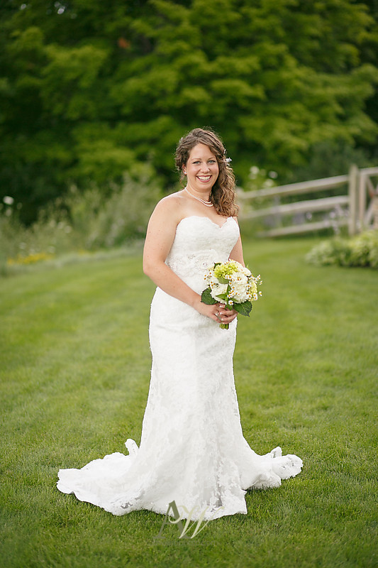 Victor NY Wedding Photographer Andrew Welsh Photography Rochester outdoor ceremony