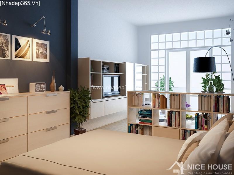 Thiết kế nội thất căn hộ A Đức - Hà Đông_1