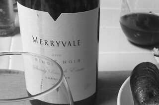 Merryvale 2010 Pinot Noir - label