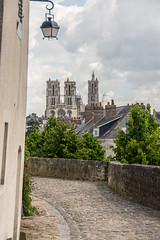 Laon: view from Rue Thibezard