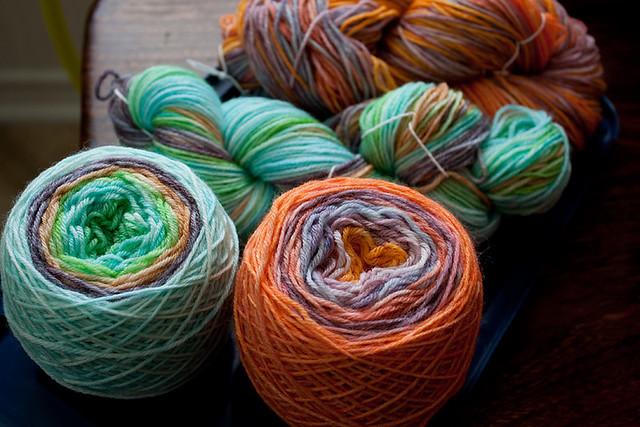Yarn à la Microwave