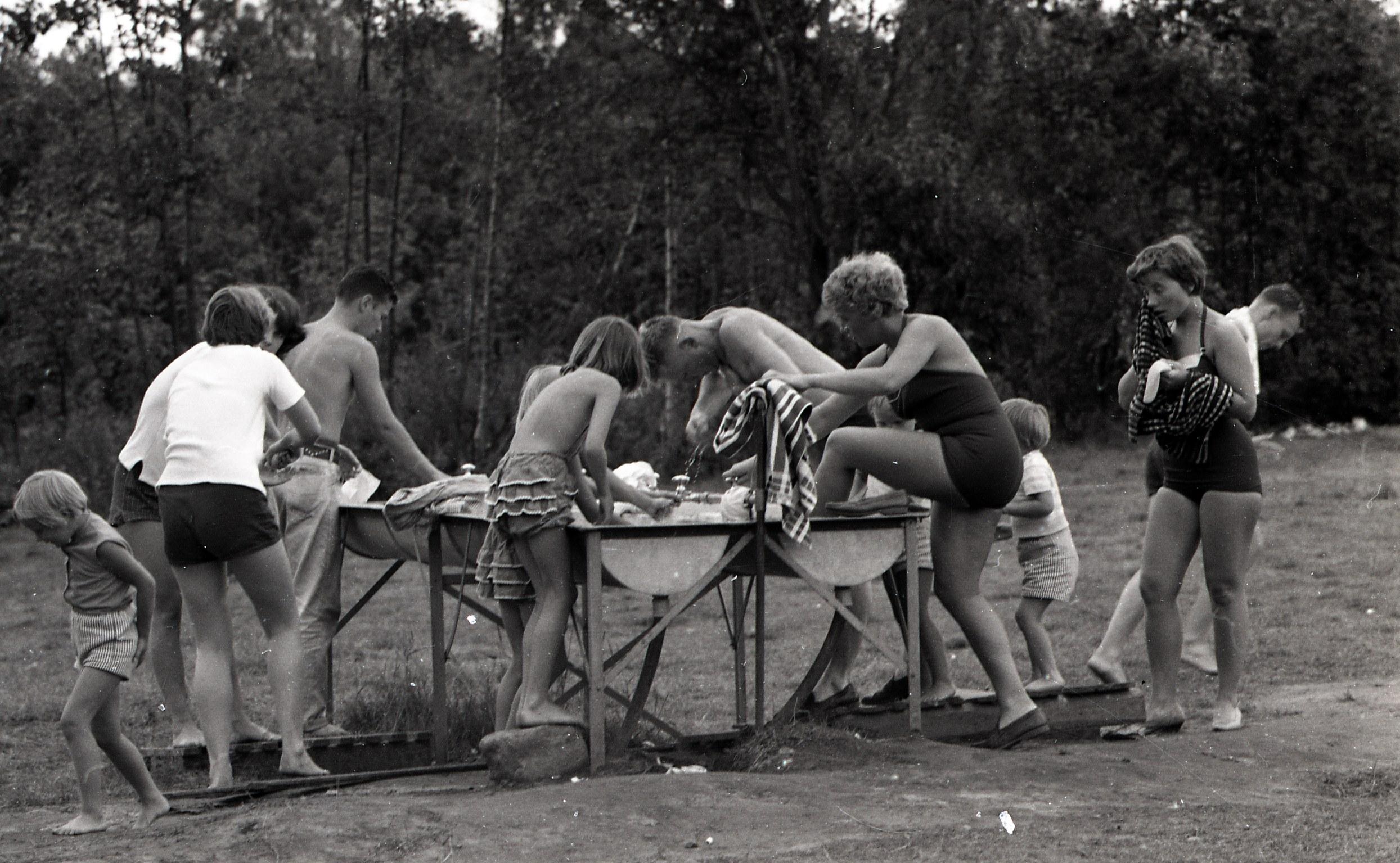 Campingvask