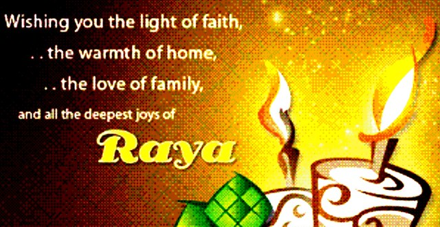 Hari Raya greeting