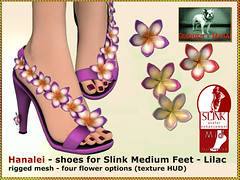 Bliensen - Hanalei - shoes for Slink Mid Feet - lilac