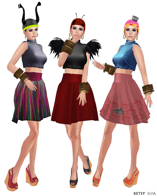 Hair Fair - Bandana Day (New Post @ Second Life Fashion Addict)