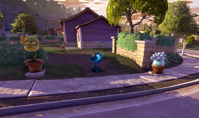 Plants vs Zombies Garden Warfare PS4: Suburban flats