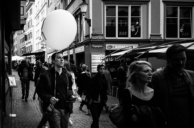 one man and his balloon