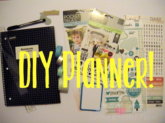 DIY Planner Supplies