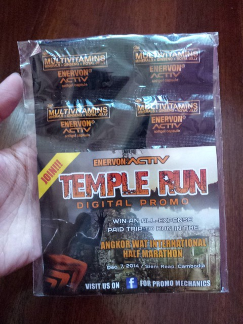 temple run enervon activ pack 1
