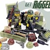 Rapid Interchangeable Guns Gear Equipment Design:  RIGGED is finally here!  Shop now for Wave 1 at www.brickforge.com  #brickforge #rigged