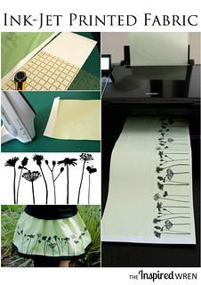 Ink-Jet Printed Skirt