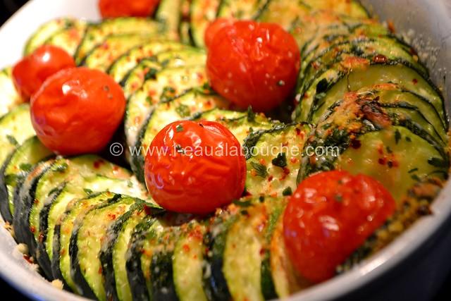 Tian de Courgettes et de Tomates Cerises © Ana Luthi Tous droits réservés 006_GF