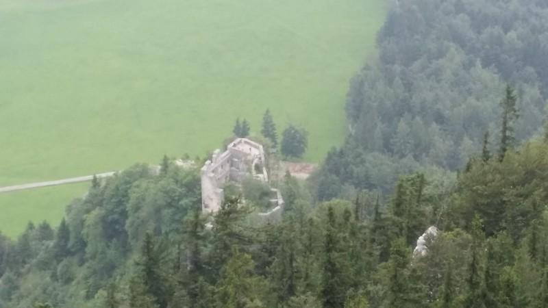 Ruine Wartenfels from Schober