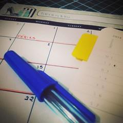 Planejar é quase tão bom quanto curtir as férias propriamente ditas. Contagem regressiva! #100happydays #day19