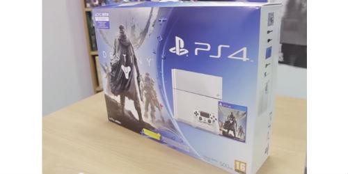 Destiny: The White PS4 Bundle unboxed video